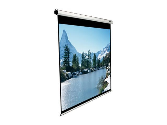 """Elitescreens Manual Ceiling/Wall Mount Manual Pull Down Projection Screen (85"""" 1:1 AR) (MaxWhite) M85XWS1"""