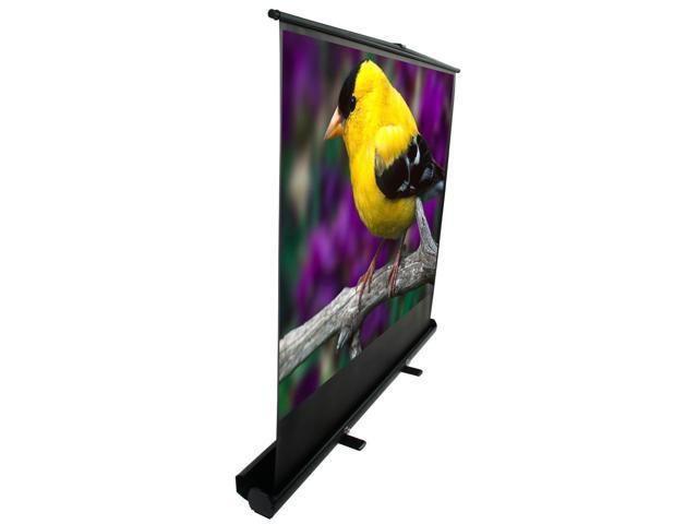 "ezCinema Plus Portable Floor Set Manual Projection Screen (72"" 16:9 AR)"