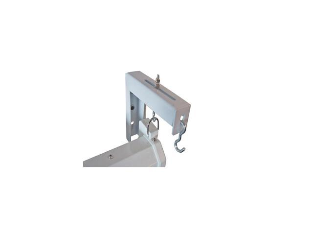 "EliteSCREENS ZVMAXLB6-W 6"" x 2 Wall/ceiling Hanging Brackets  X Type - White"