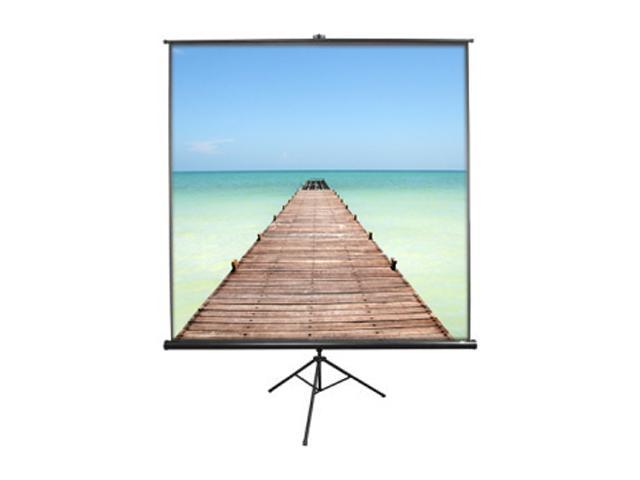 EliteSCREENS T60UWH Tripod Portable Tripod Manual Pull Up Projection Screen (60