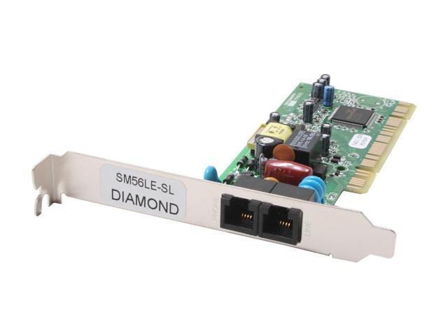 DIAMOND SM56PCILEWB SupraMax PCI LE Fax Modem 56Kbps