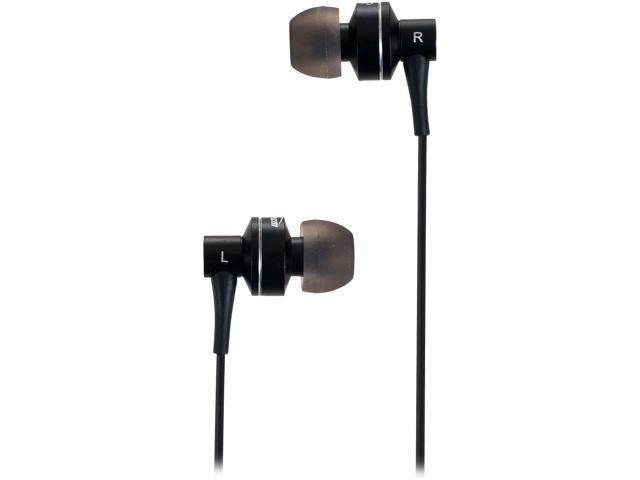 Sunbeam Black SEB-2014 Stereo HD Bass Metal Earphones - Black