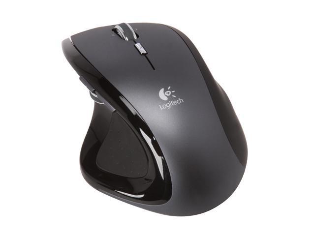 Logitech MX Revolution Black 7 Buttons 2 x Wheels RF Wireless Laser Mouse