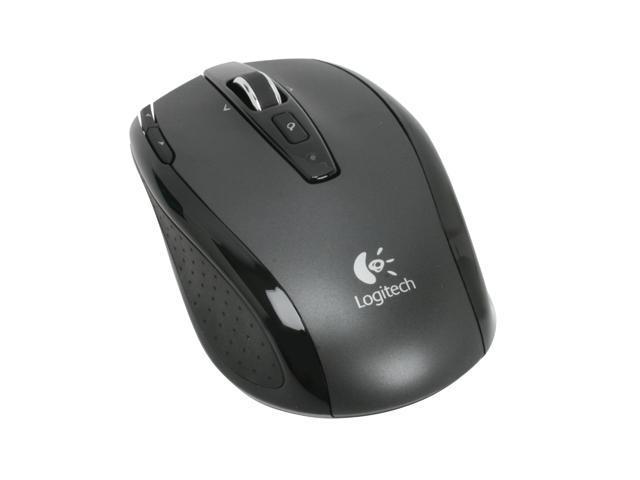edcac46e336 Logitech VX Nano Black 6 Buttons Tilt Wheel Cordless Laser Mouse for