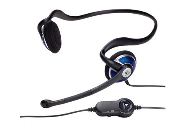 Logitech ClearChat Style 3.5mm Connector Supra-aural Headset