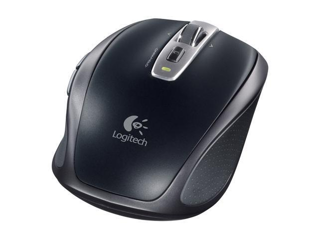 Logitech Anywhere Black Tilt Wheel Advanced 2.4 GHz wireless Laser Mouse MX