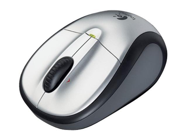 Logitech M305 Silver 3 Buttons Tilt Wheel USB Wireless Optical Mouse