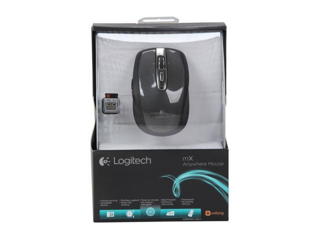 Logitech Wireless Anywhere Mouse MX for PC and Mac - Black