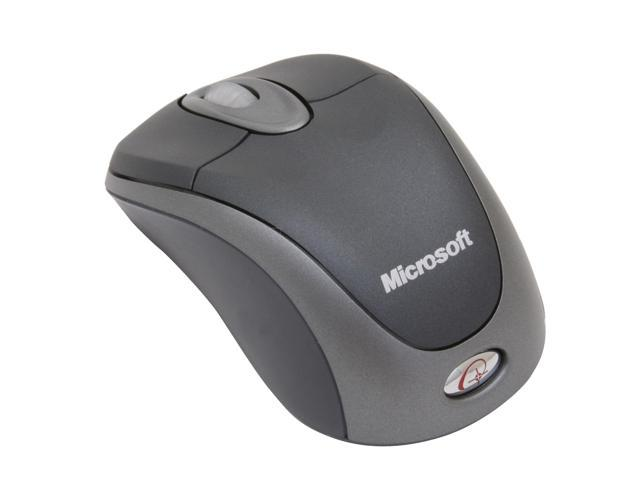Microsoft BX3-00008 Slate Wireless Optical Notebook Mouse 3000 - OEM