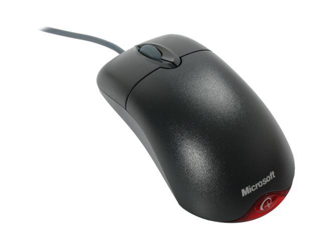 Microsoft Wheel Mouse Optical - Black