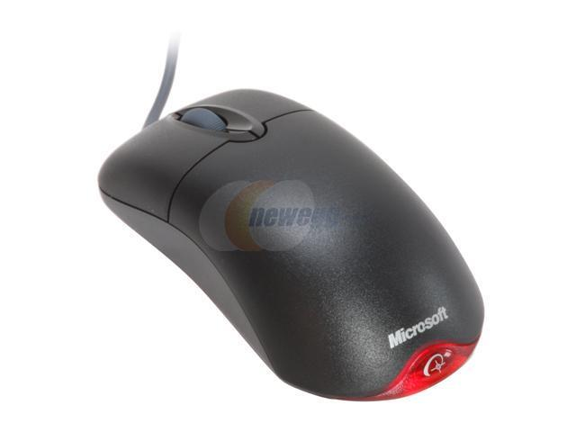 Microsoft N71-00005S Black Wired Optical Wheel Mouse Optical - OEM