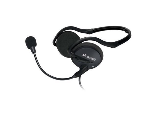 Microsoft LifeChat LX-2000 Supra-aural Compact Stereo Headset