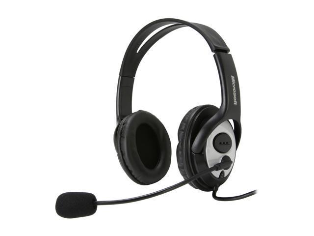 Microsoft LifeChat LX-3000 USB Connector Circumaural Stereo Headset