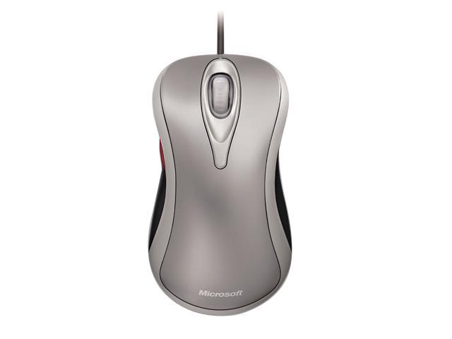 Microsoft D1T-00003 Silver Wired Optical Comfort Optical Mouse 3000