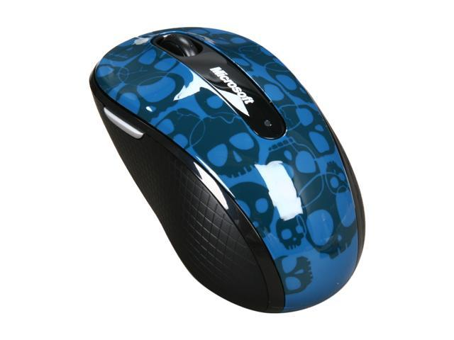 Microsoft Wireless Mobile Mouse 4000 Studio Series Crania 1 x Wheel USB RF Wireless Mouse