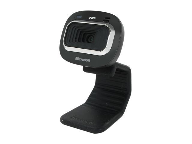 Microsoft LifeCam HD-3000 USB 2.0 720p HD widescreen video webcam