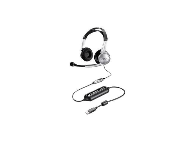 PLANTRONICS GAMECOMPRO1 USB Connector Circumaural Gaming Stereo Headset