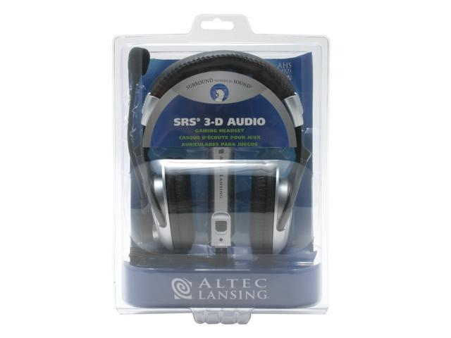 ALTEC LANSING AHS602I Circumaural Gaming Headset