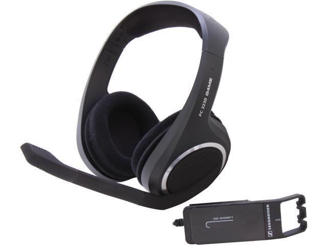 SENNHEISER PC 323D 3.5mm/ USB Connector Circumaural Headset