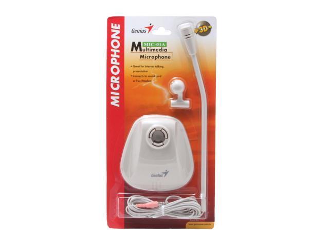 Genius MIC-01A White Microphone