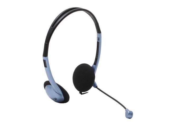 Genius HS-02B Supra-aural Headset