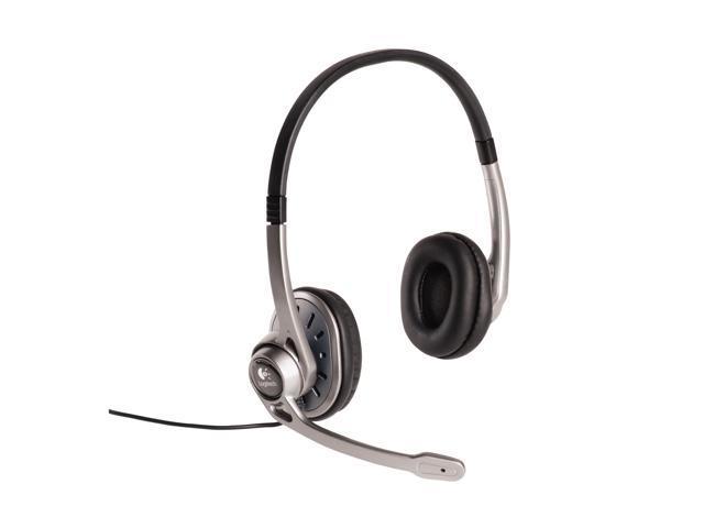 Logitech 980356-0403 USB Connector Circumaural Headset 250