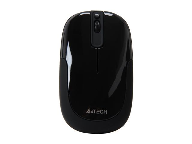A4Tech G9-110H-1 Black 4 Buttons 1 x Wheel USB RF Wireless Optical PPO Zero Delay Mouse