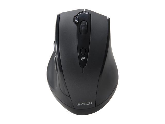 A4Tech G10-810H Black 7 Buttons 1 x Wheel USB RF Wireless Optical PPO Multi Mode Mouse