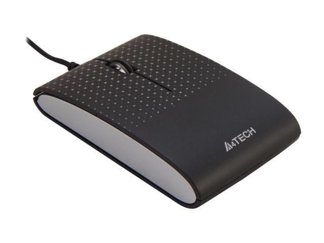 A4Tech D-120 Black 3 Buttons 1 x Wheel USB Wired Optical Mouse