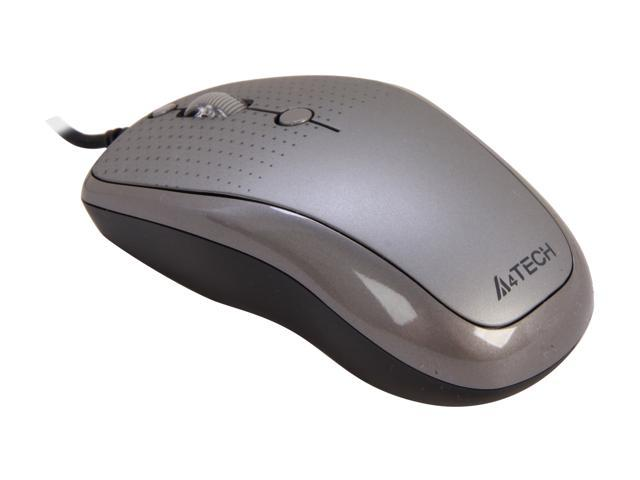 A4Tech D-530-FX1 5 Buttons 1 x Wheel USB Wired Optical Mouse
