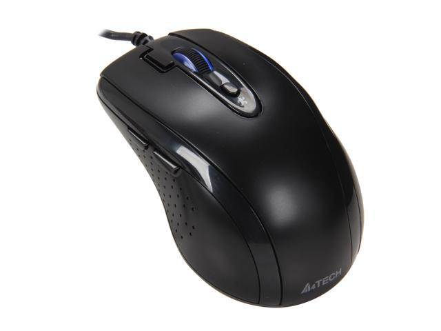 A4Tech D-70FX 7 Buttons 1 x Wheel USB Wired Optical Mouse