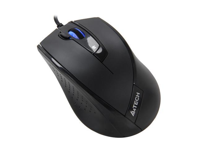 A4Tech D-730FX Black 5 Buttons 1 x Wheel USB Wired Optical Mouse