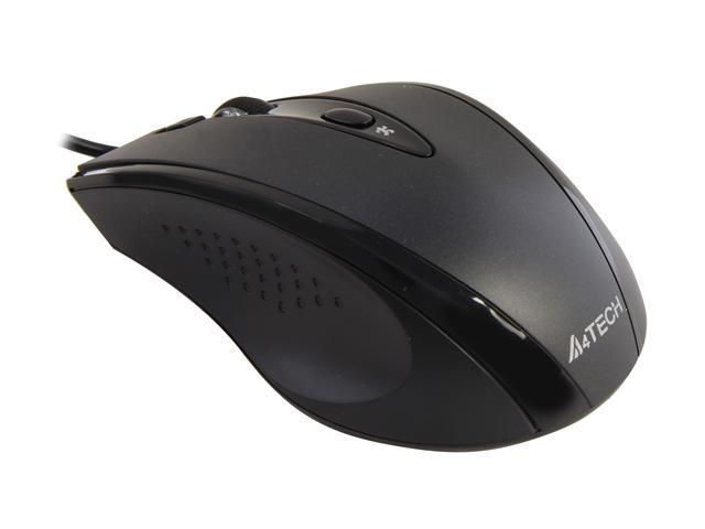 A4Tech D-770FX Black 5 Buttons 1 x Wheel USB Wired Optical Mouse