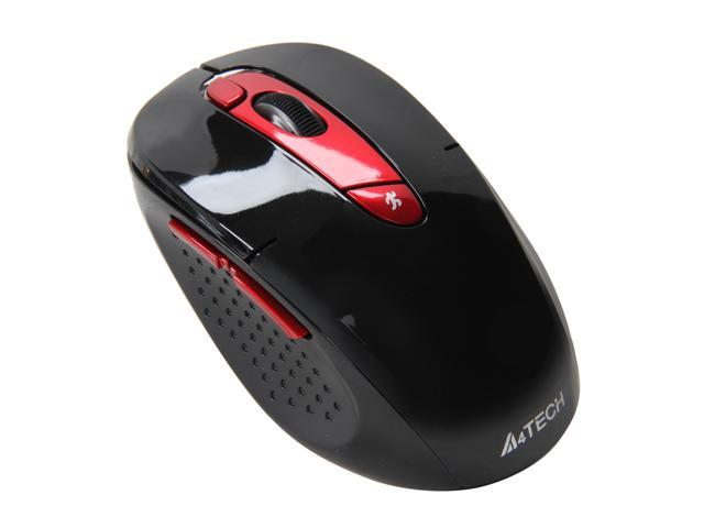 A4Tech G11-570HX-4 Red 7 Buttons 1 x Wheel USB RF Wireless Mouse