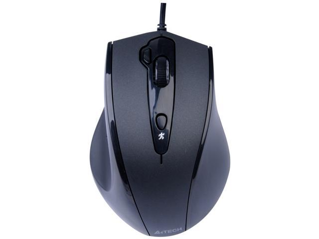 A4Tech Black Wired HoleLESS Engine Mouse