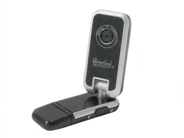 Connectland CL-CAM50001 1.3 M Effective Pixels USB 2.0 WebCam