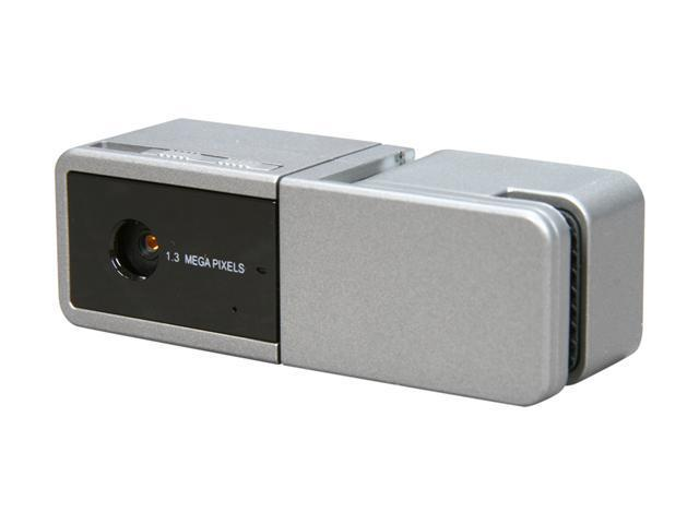 SYBA SY-CAM63014 1.3 M Effective Pixels USB 2.0 WebCam with Microphone and Lens Cover