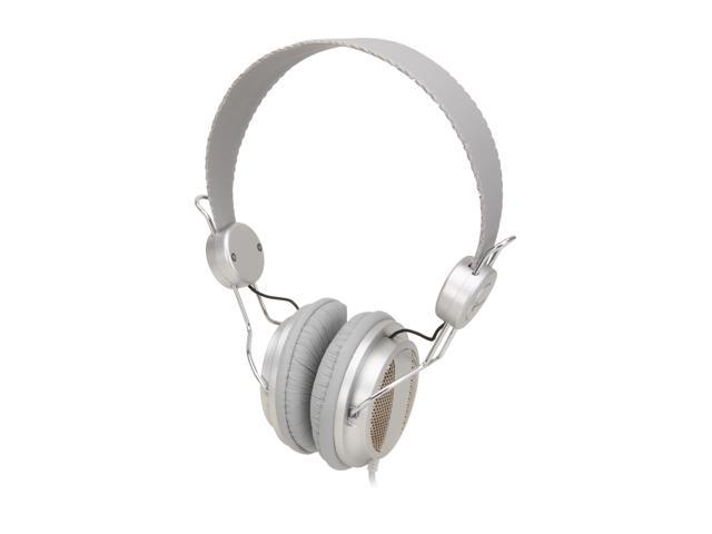 Connectland CL-AUD63026 Lightweight Headset for iPhone & Smartphone - Crystal Silver