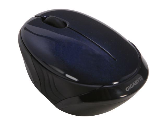 GIGABYTE GM-AIRE M1 Blue 1 x Wheel USB Wired Optical Retractable Mouse