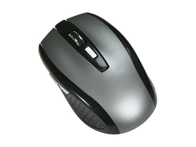DCT Factory M-WNNBG BK Black 1 x Wheel USB RF Wireless Optical Mouse