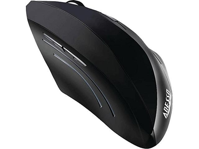 ADESSO iMouse E20 Black 4 Buttons 1 x Wheel RF RF Wireless Laser Vertical Ergonomic Mouse
