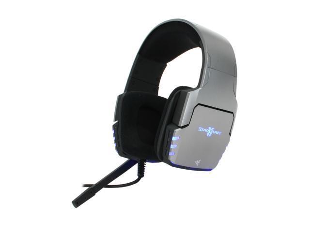 Razer RZ04-00450100-R3U1 Circumaural Banshee StarCraft II Gaming Headset