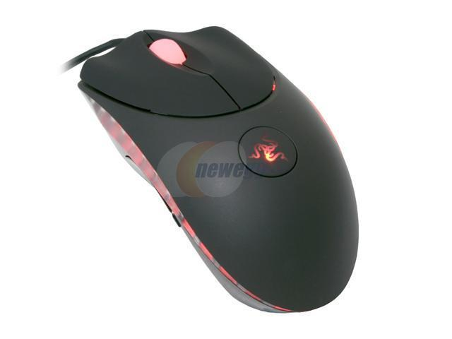 RAZER Copperhead Anarchy RZ01-00050200-R1M1 Red 7 Buttons 1 x Wheel Gold plated USB Wired Laser Engine Gaming Mouse