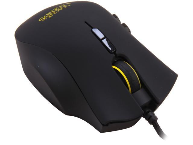 RAZER Naga Hex League of Legends Edition RZ01-00750300-R3M1 Black Wired Laser Mouse