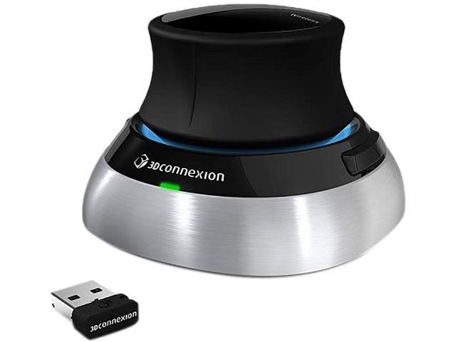 3Dconnexion SpaceMouse Wireless 3DX-700043 USB RF Wireless Mouse