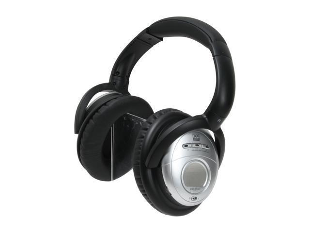 Creative Aurvana X-Fi 3.5mm/ 6.3mm Connector Circumaural Noise-Cancelling Headphone