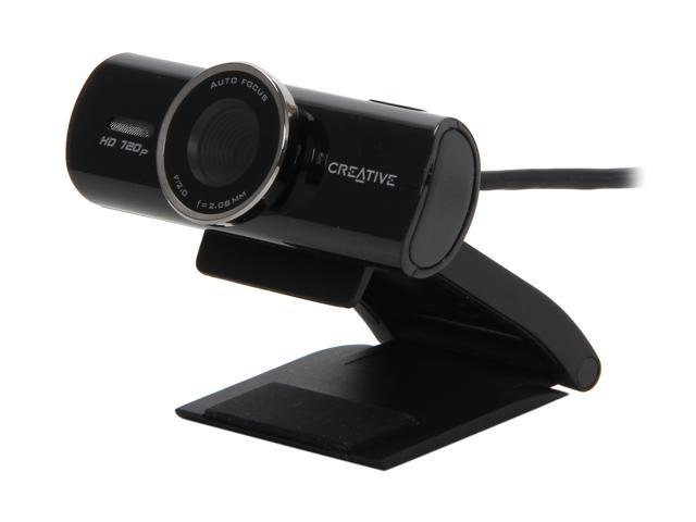 Creative 73VF075000000 USB 2.0 Live! Cam Connect HD Webcam