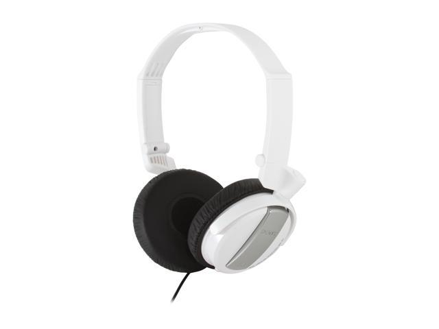 SONY White MDR-NC7/WHI 3.5mm Connector Supra-aural Noise Canceling Headphone (White)