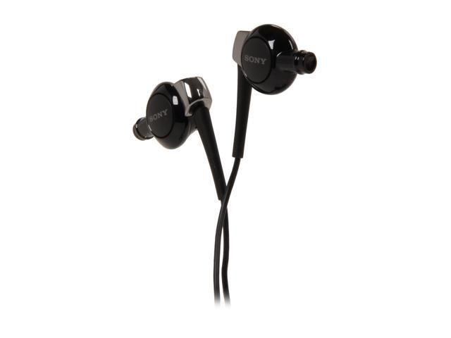 Sony MDR-EX300 Earbud Stereo Headphones w/3.5mm Jack, Carry Case & 3 Sizes of Earbuds (Black)