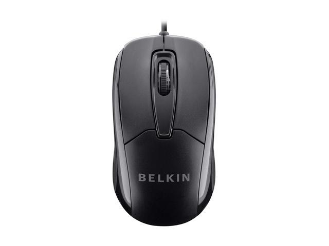 BELKIN 3 Buttons 1 x Wheel USB Wired Optical Mouse